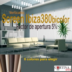 Cortina Vertical Ibiza380 bi