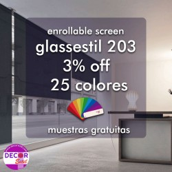 estor enrollable glassestil 203
